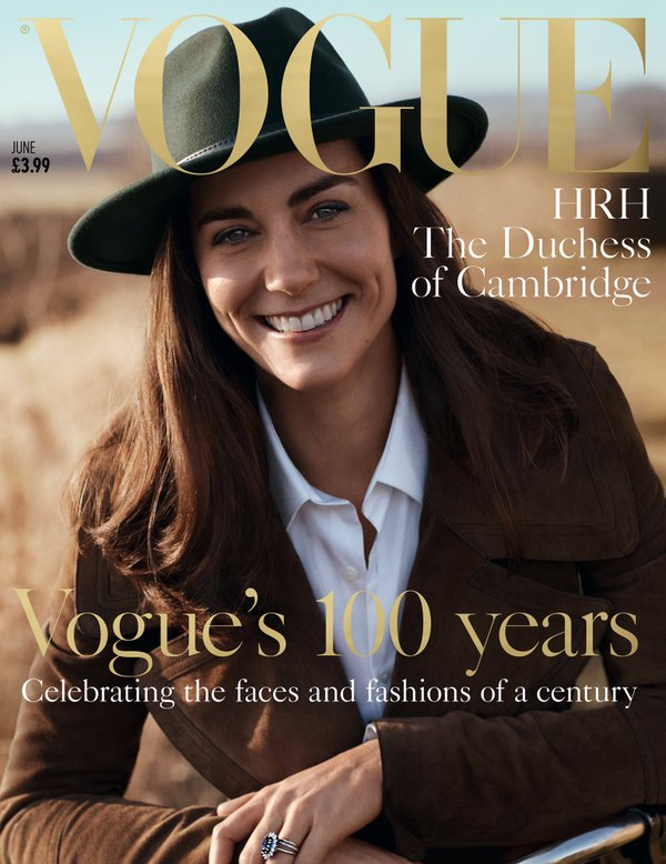 Kate Middleton covers Vogue 1