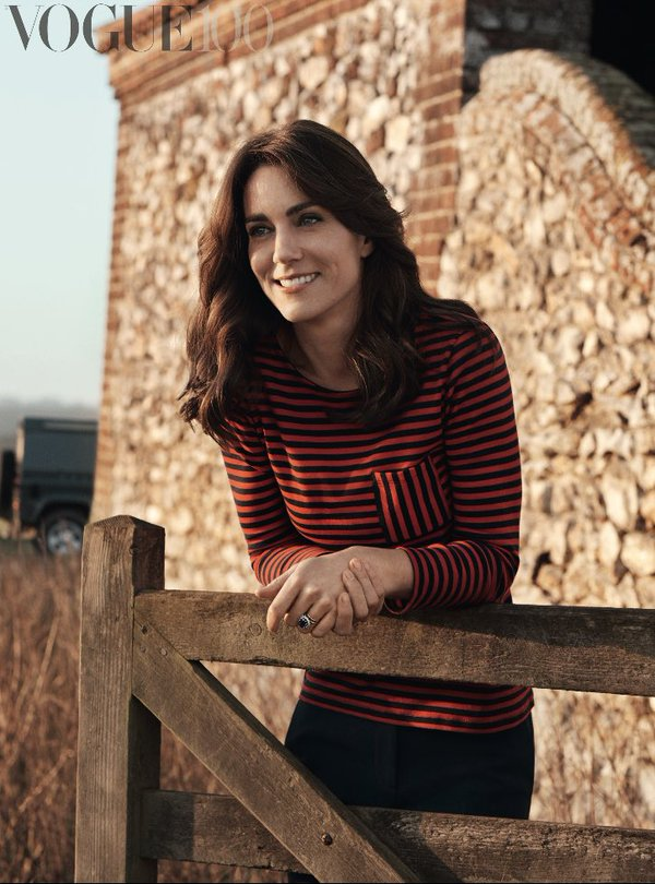 Kate Middleton covers Vogue 2