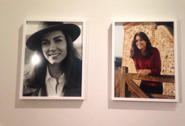 Kate's Vogue portraits at the NPG