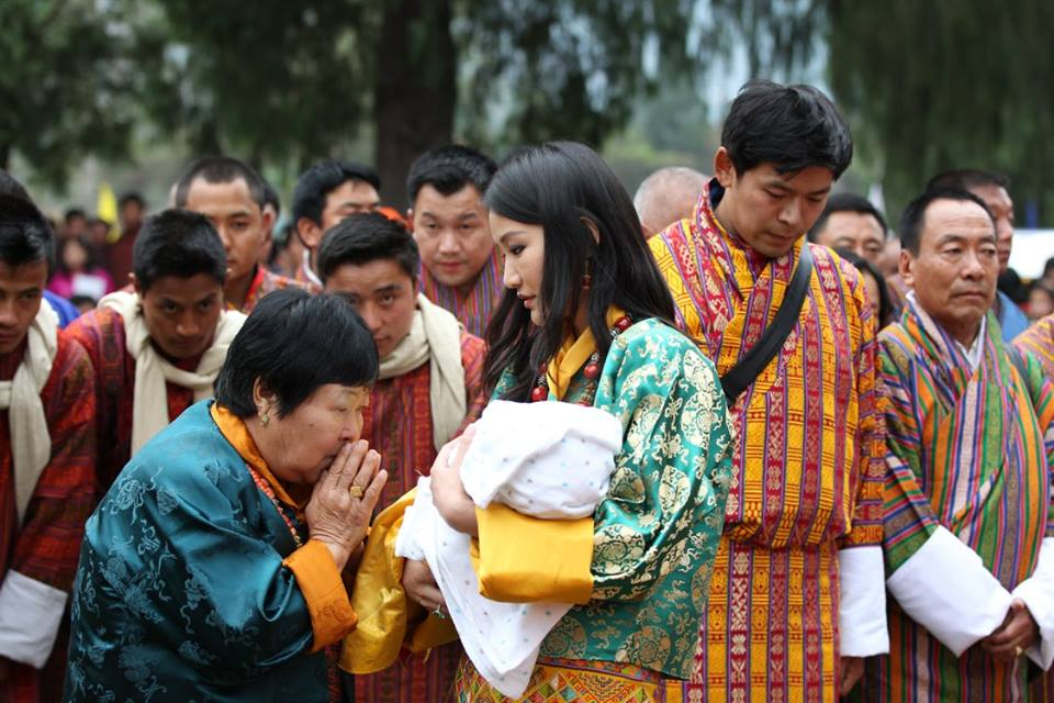 King, Queen, and The Gyalsey naming ceremony 5