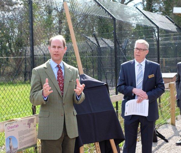 Prince Edward opens Mahali Pori exhibit at Bristol zoo