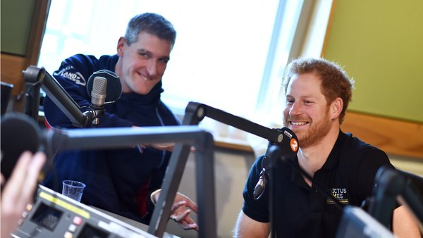 Prince Harry BBC Radio 2