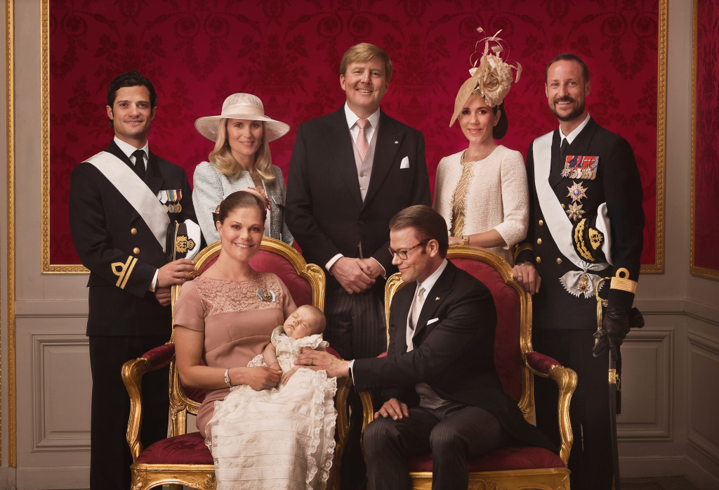 Princess Estelle Christening godparents