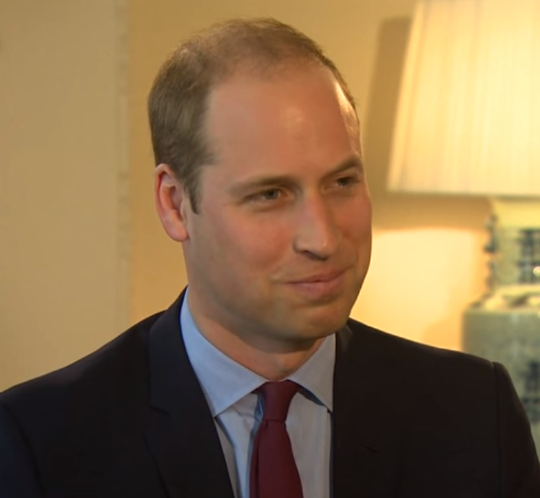 William BBC interview
