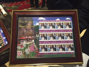 William and Kate Bhutan stamps 2