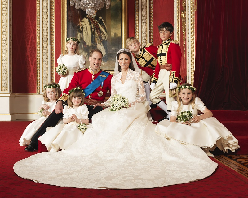 William and Kate bridal party