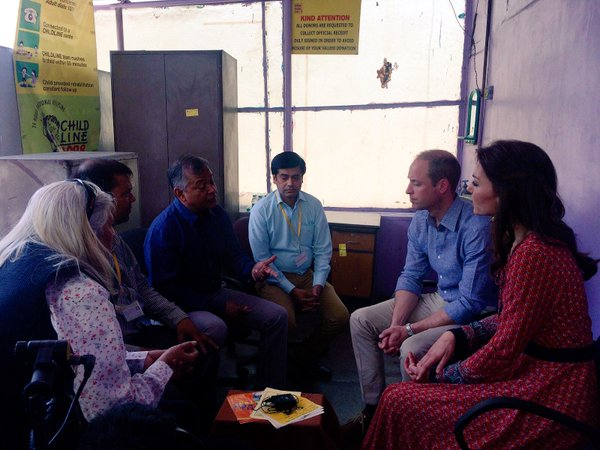 William and Kate visits Salaam Baalak Trust 2