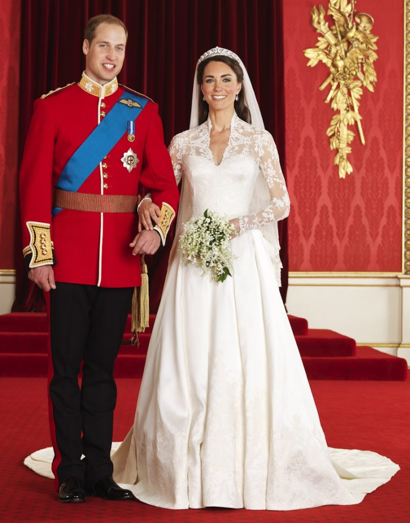 William and Kate wedding photo