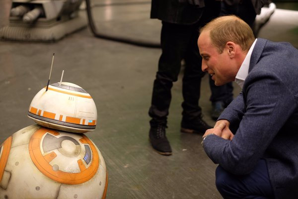 William with BB8