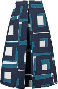 Banana Republic Geo Jacquard Skirt
