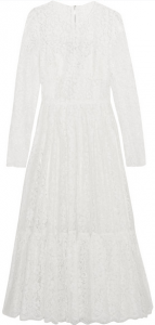 Dolce & Gabbana Cotton-blend lace dress