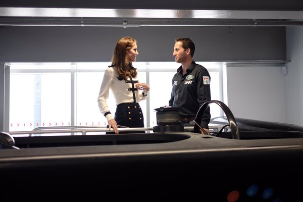 Kate with Ben Ainslie May 2016