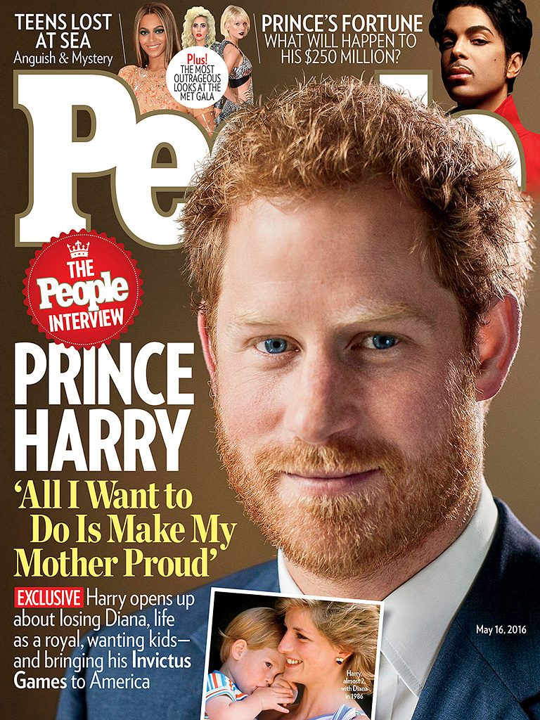 Prince Harry People cover
