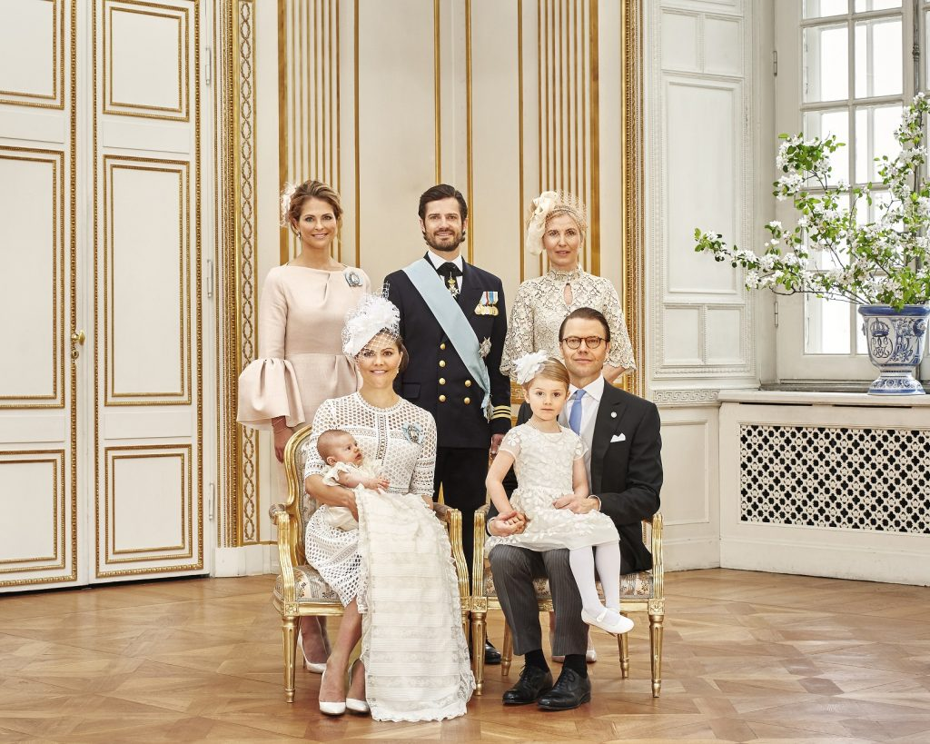 Prince Oscar's Christening CP Family Siblings s