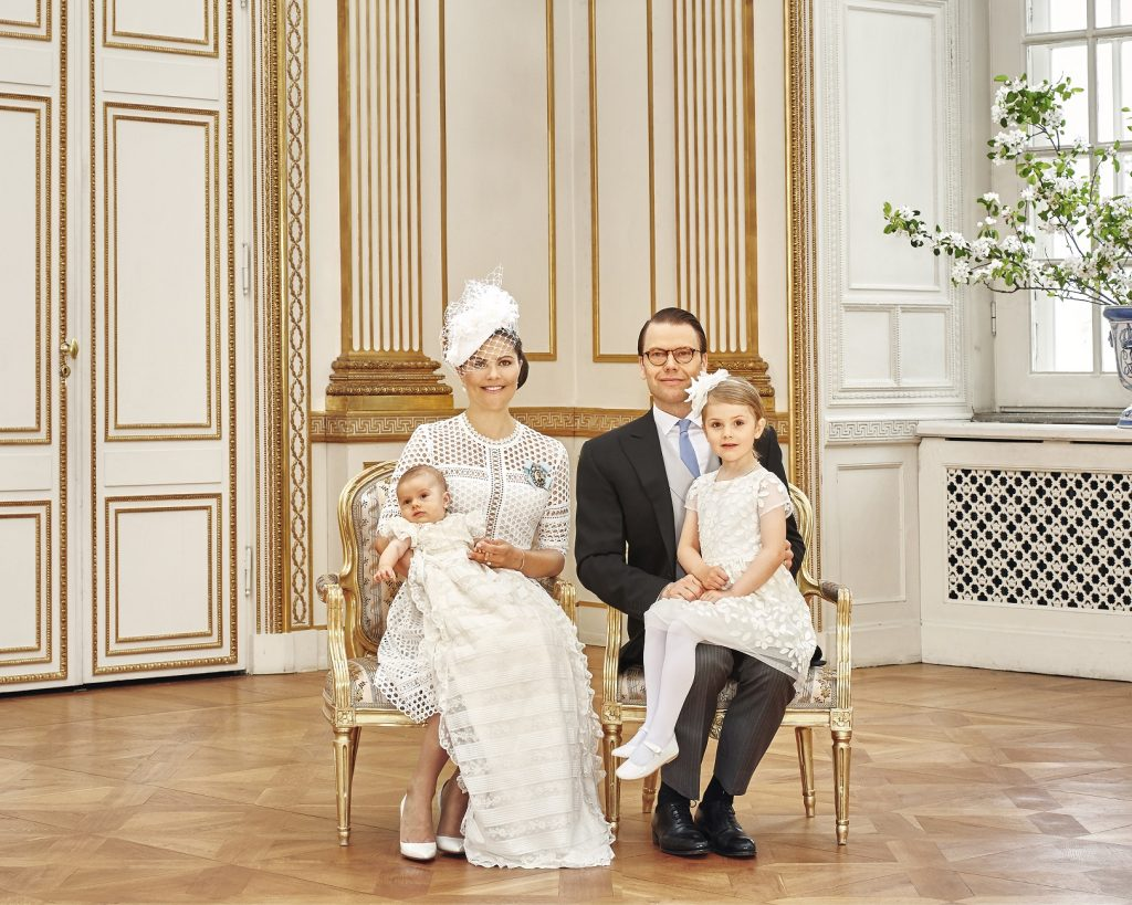 Prince Oscar's Christening CP Family s