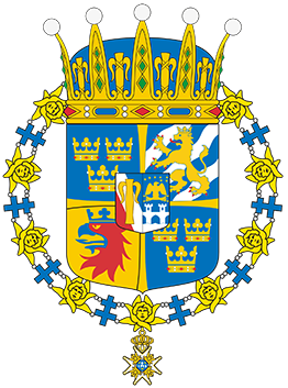 Prince Oscar's Coat of Arms