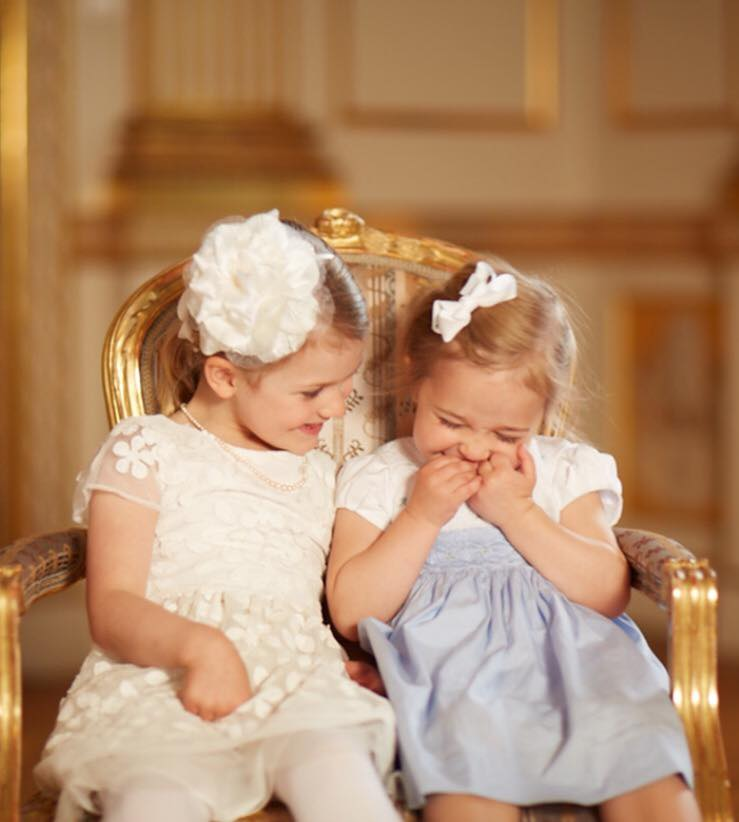 Princess Estelle and Princess Leonore May 2016