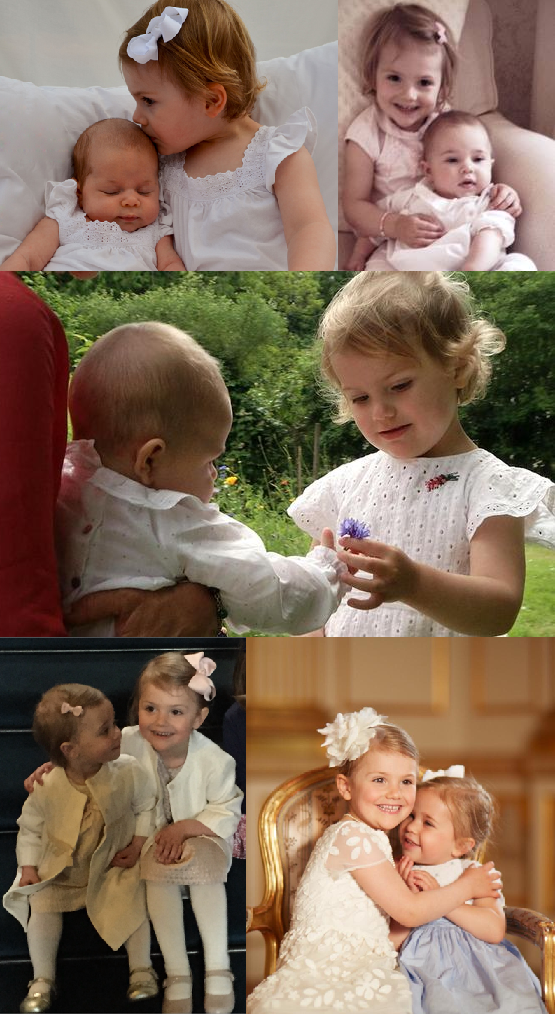 Princess Estelle and Princess Leonore