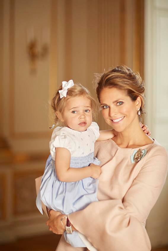 Princess Madeleine and Princess Leonore May 2016