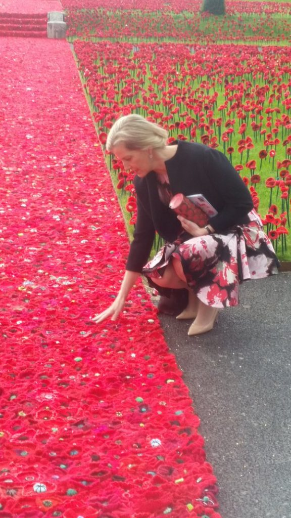 Sophie at Chelsea Flower Show 1
