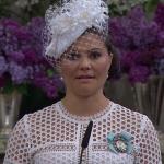 Victoria speaks during Christening