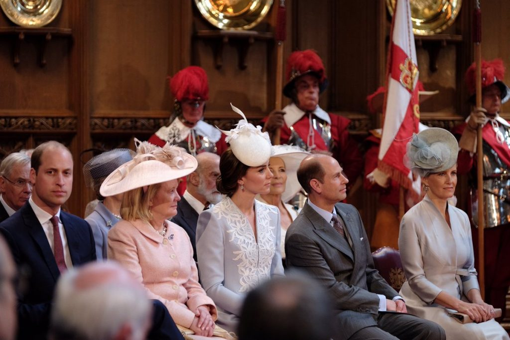 British royal family at Guildhall lunch 1