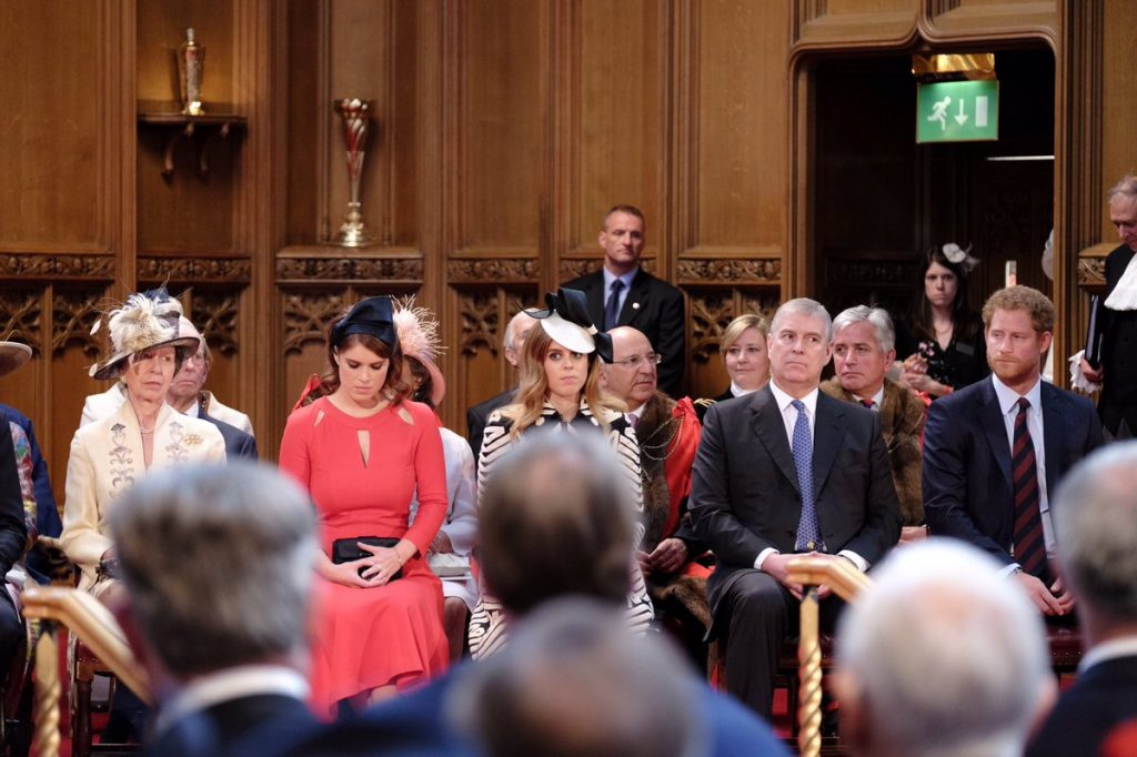 British royal family at Guildhall lunch 2