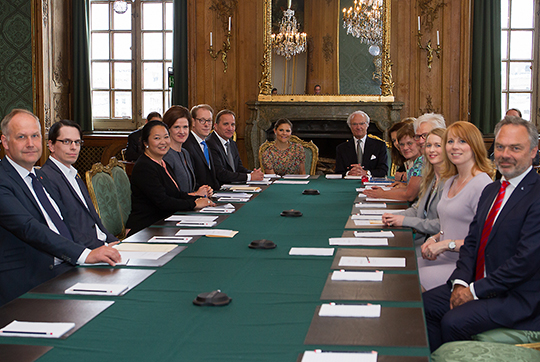 Crown Princess Victoria Foreign Relations Comittee June 2016