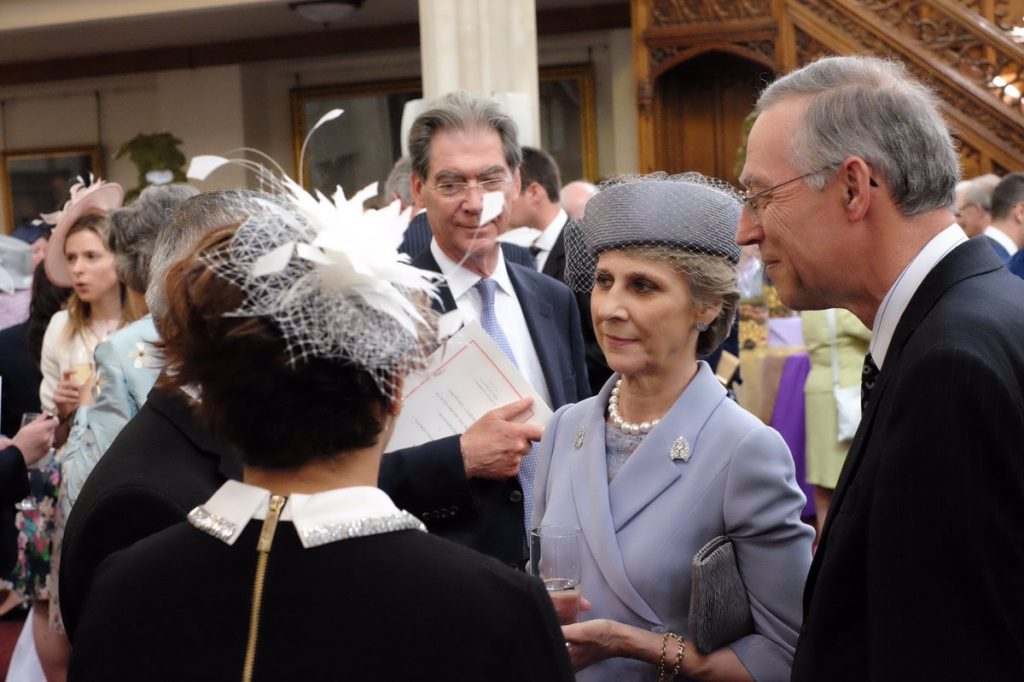 Duchess of Gloucester Guildhall lunch
