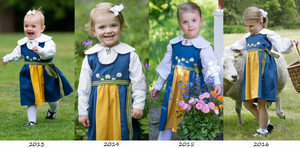 Estelle's National Day portraits through the years