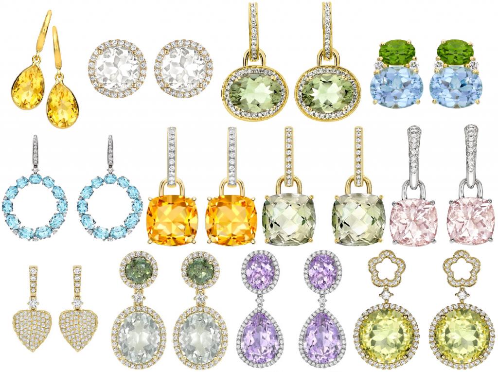 Kate Middleton Kiki McDonough Earring Collection