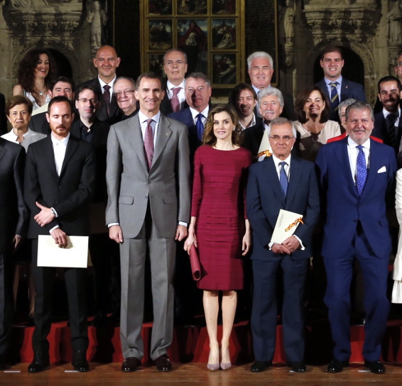 Letizia and Felipe at the National Culture Awards s