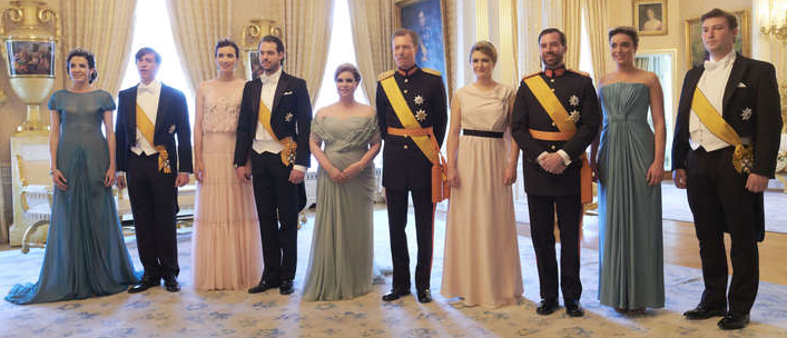 Luxembourg Royal Family National Day Gala