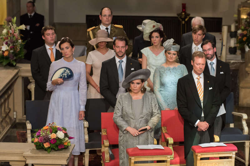 Luxembourg Royal Family National Day Te Deum