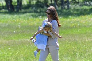 Princess Madeleine retrieves Princess Leonore after running away in Gotland