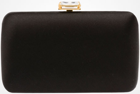 Prada clutch with stone embellishment