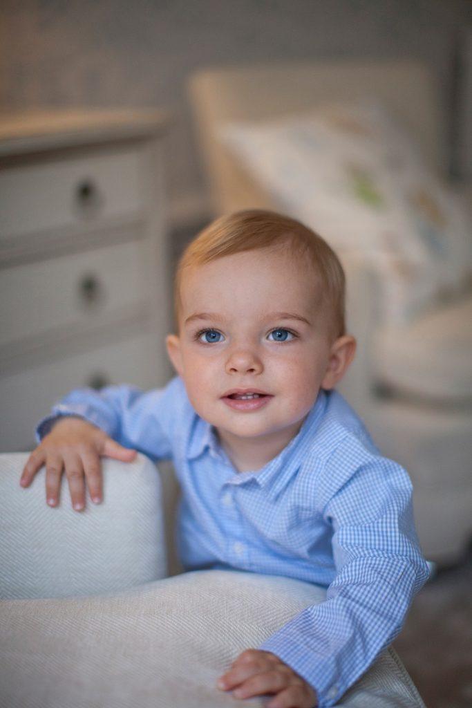 Prince Nicolas 1st birthday photo