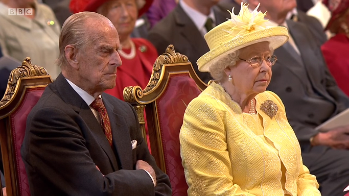 Queen and Philip Service of Thanksgiving