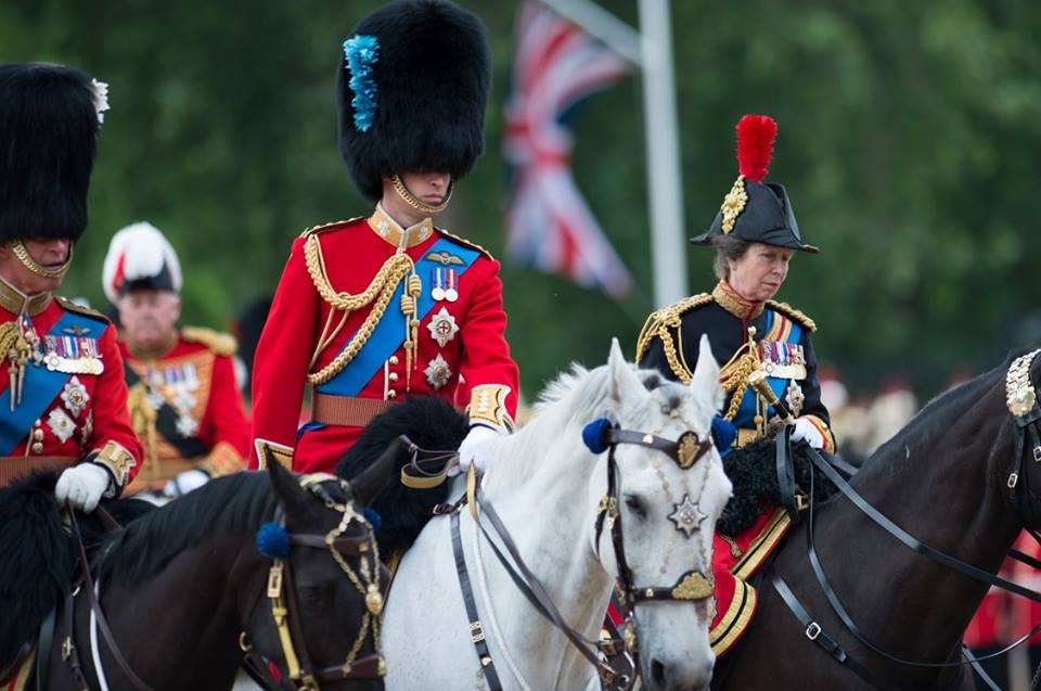 William Trooping the Color 2016