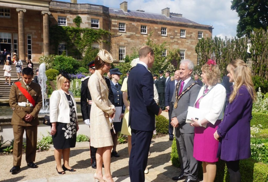 William and Kate Northern Ireland garden party