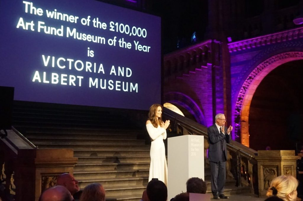 Kate Middleton Museum of the Year Award winner