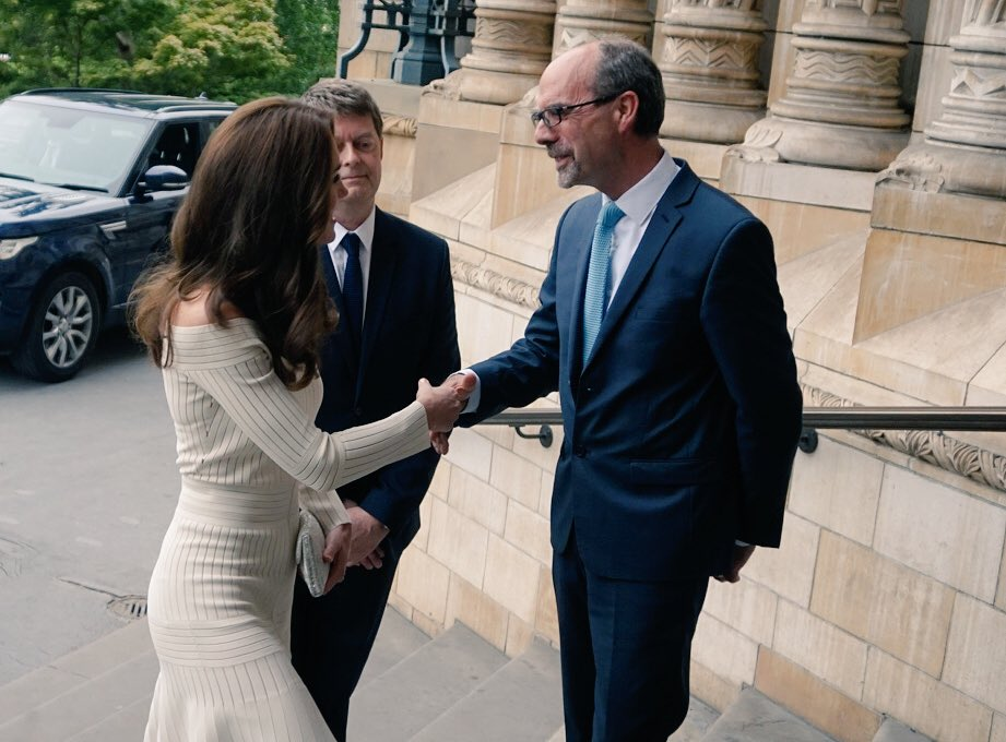 Kate Middleton arrives at Museum of the Year Award