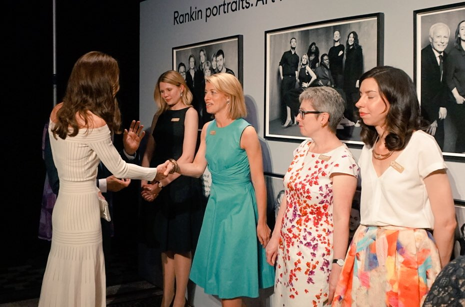 Kate Middleton meets people at Museum of the Year Award 1