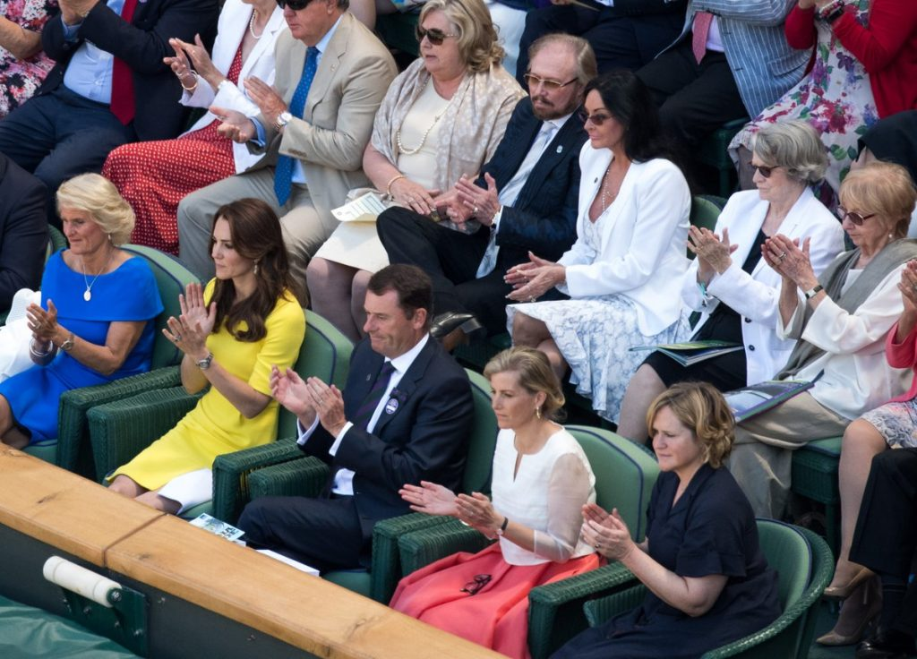 Kate and Sophie at Wimbledon 2016