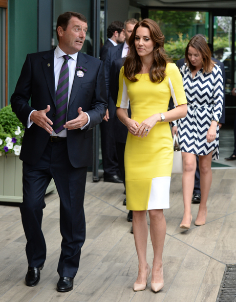 Kate arriving at Wimbledon 2016