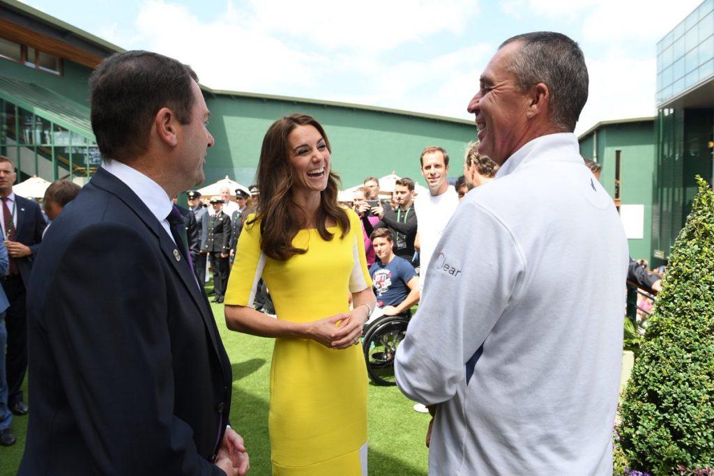 Kate at Wimbledon 2016