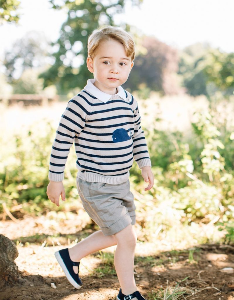 Prince George's 3rd birthday photo 1