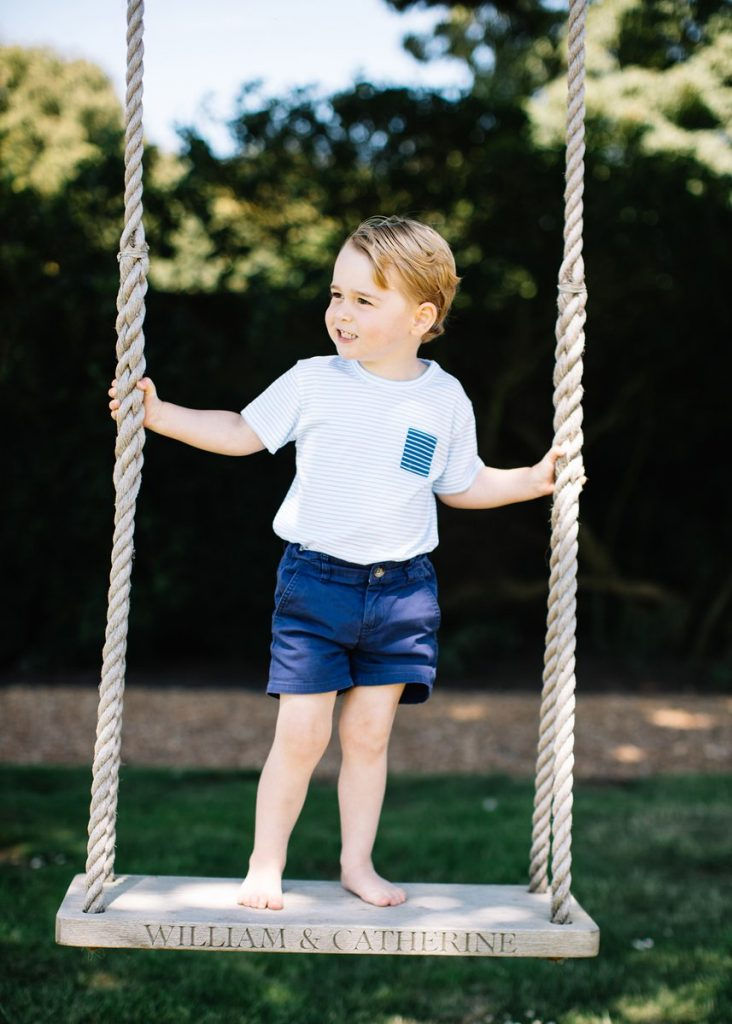 Prince George's 3rd birthday photo 2