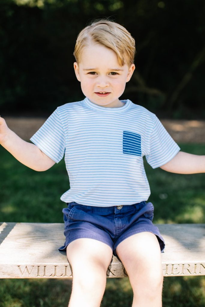 Prince George's 3rd birthday photo 3