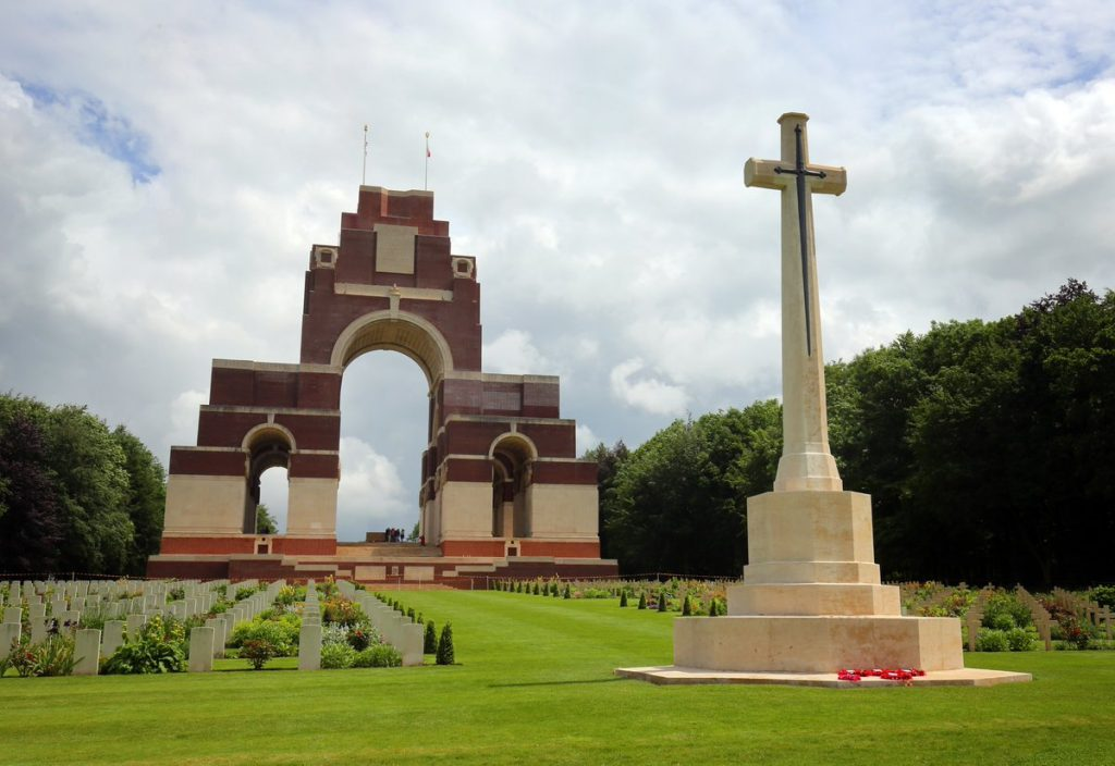 Thiepval Memorial Somme